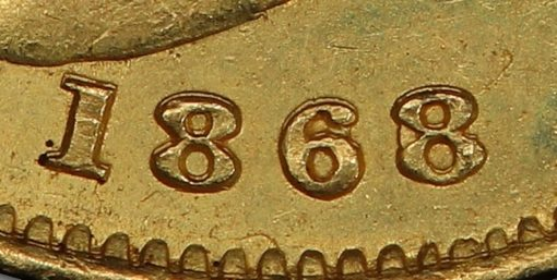 1868 over 6 close up