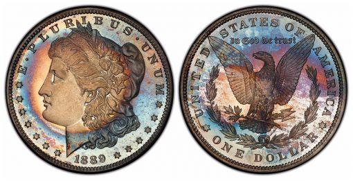 1889 Morgan PCGS PR68CAM