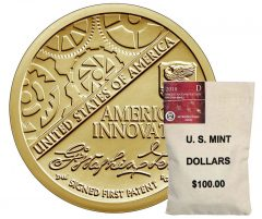 2018 American Innovation $1 Coin and Bag