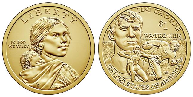 2018 Native American $1 Dollar Coin
