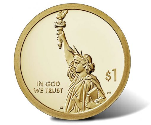 2018-S Proof American Innovation $1 Coin - obverse