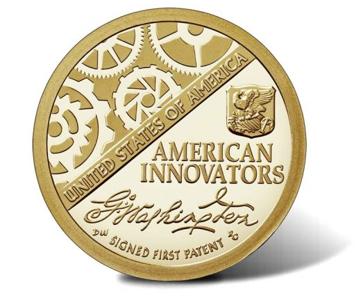 2018-S Proof American Innovation $1 Coin - reverse