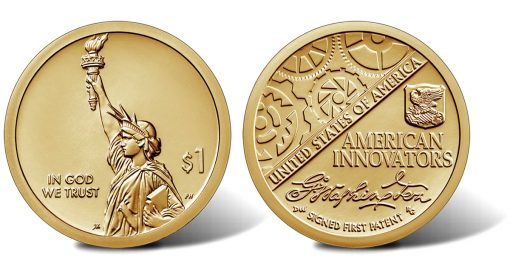 2018 Uncirculated American Innovation $1 Coin - obverse and reverse