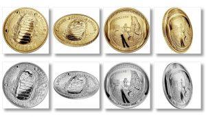 2019 Apollo 11 50th Anniversary Commemorative Coins