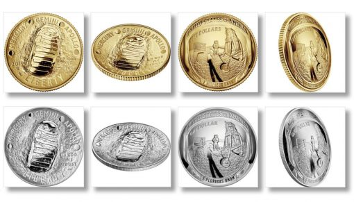 2019 Apollo 11 50th Anniversary Commemorative Coins