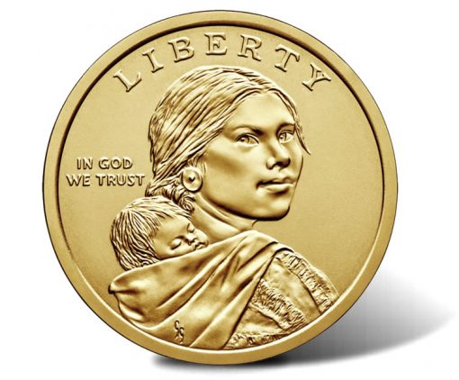 2019 Native American $1 Coin - obverse