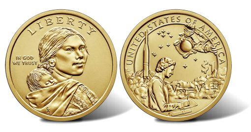 2019 Native American $1 Coin - obverse and reverse