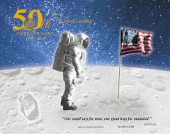 Giant Leap Print From Apollo 11 50th Anniversary Series Launches