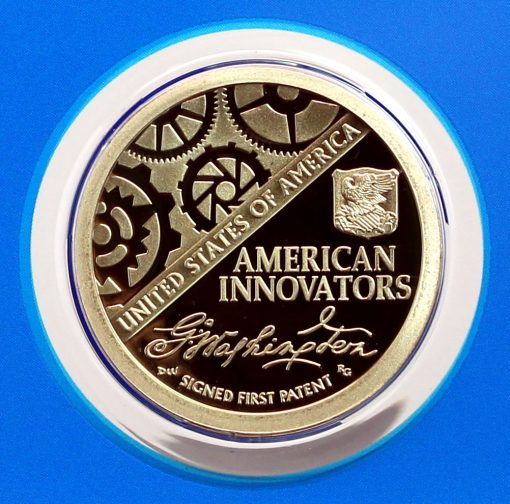 Photo 2018-S Proof American Innovation Dollar - Reverse