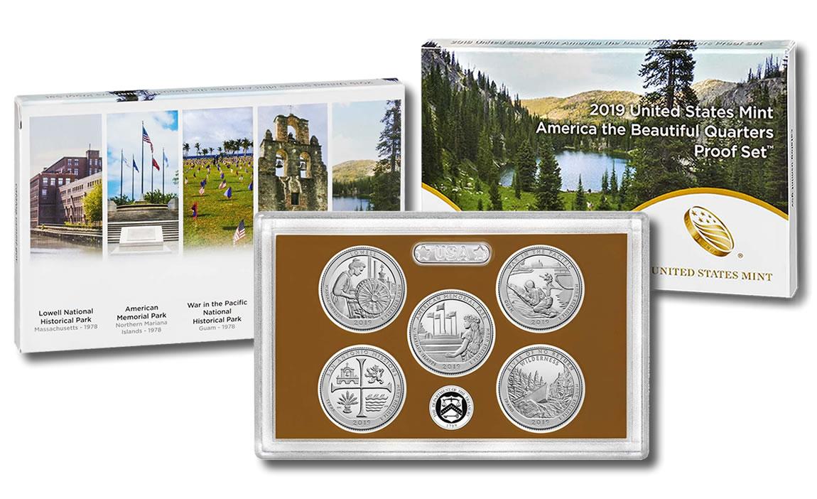 2010 United States Mint America the Beautiful Quarters Proof Set™