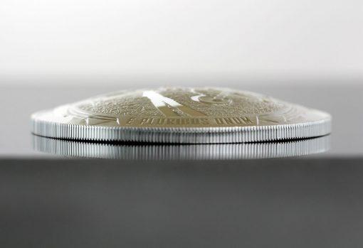 2019-P Proof Apollo 11 50th Anniversary Five Ounce Silver Dollar - Dome