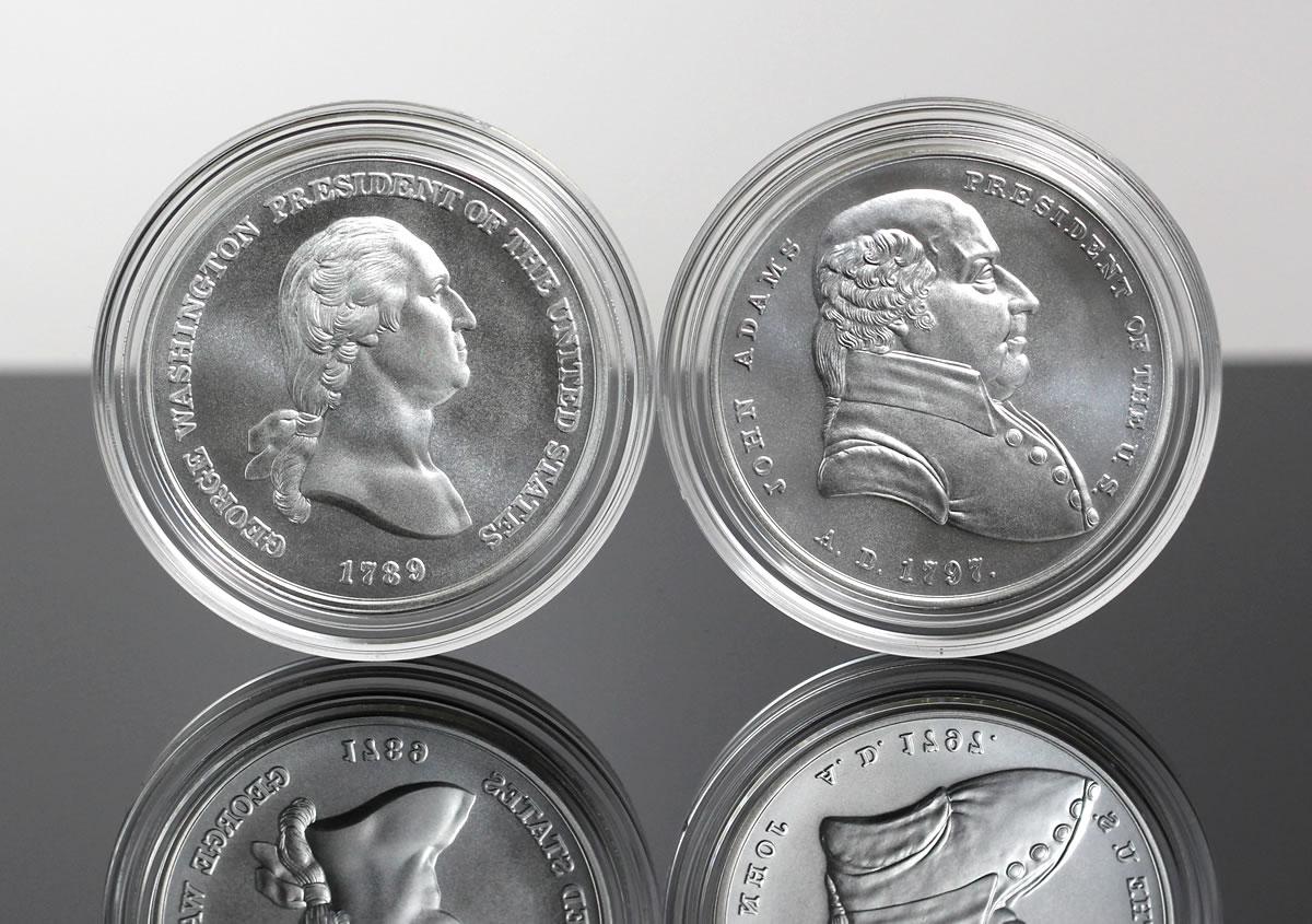 President Thomas Jefferson Double Eagle Gold//Silver