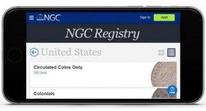 Numismatic Guaranty Corporation Upgrades NGC Registry