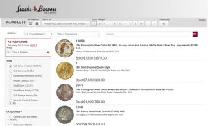 Stacks Bowers Galleries Auction Archives