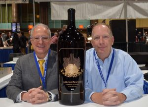 Arrow&Branch Creates Numismatics-Inspired 60 Pound Bottle of Wine