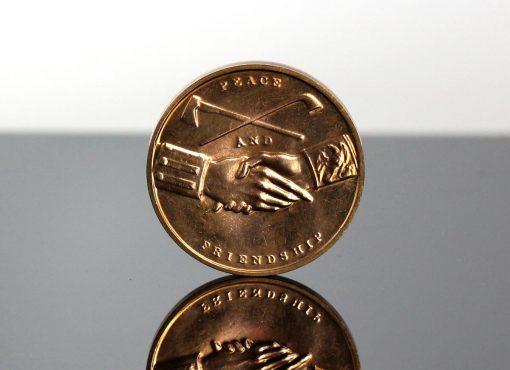 Thomas Jefferson Presidential Bronze Medal - Reverse