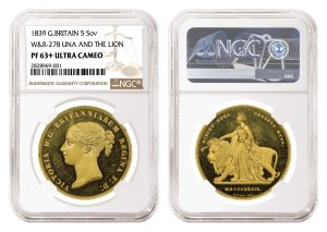 NGC Certifies Rare Set of 1839 British Proof Coins