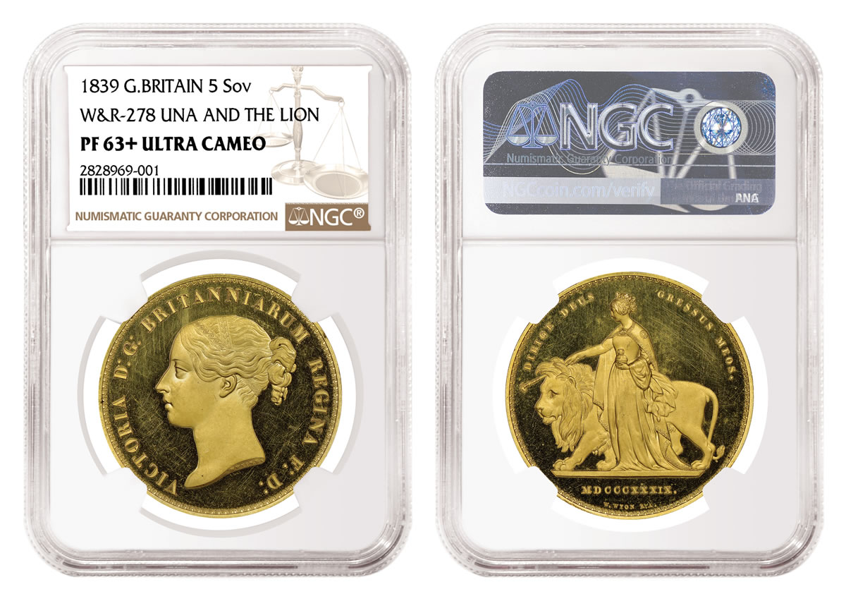 NGC Certifies Rare Proof Set of 1839 British Coins | Coin News