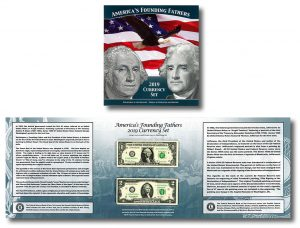 America's Founding Fathers Currency Set for 2019