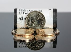 Federal Reserve Inventories of $1 Coins at 1.105 Billion