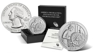 2019-P Lowell 5 Oz Silver Uncirculated Coin Released