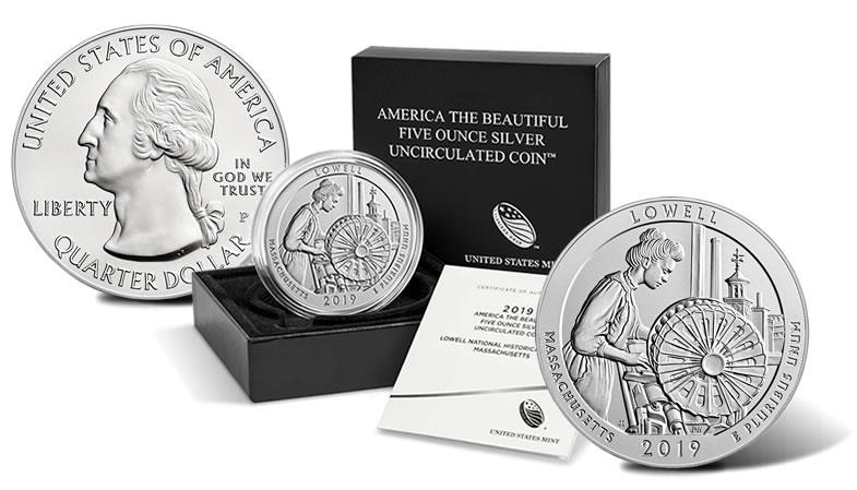 BU Uncirculated 5 Coins 2010 All Five P America the Beautiful Quarters