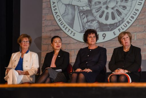Jacqueline Moloney, Yun-Ju Choi, Karen Frederick, Eileen Donoghue