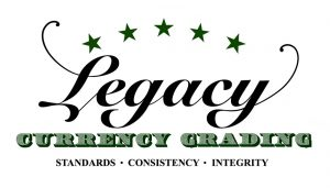 Legacy Currency Grading logo
