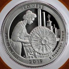 Lowell National Historical Park Quarter - Reverse
