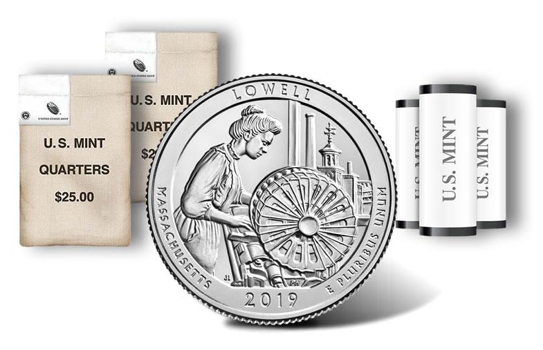2019 Lowell Quarters for Massachusetts Released | Coin News