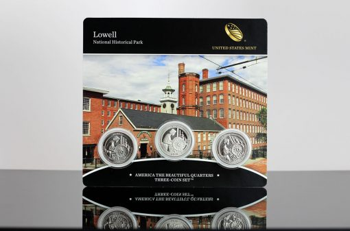 Photo of Lowell National Historical Park Quarter Three-Coin Set