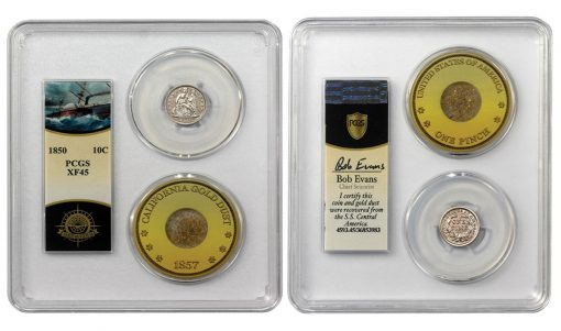 SSCA dime in PCGS holder