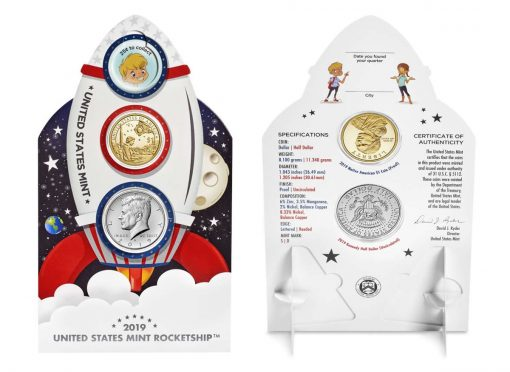 U.S. Mint Rocketship - Front and Back