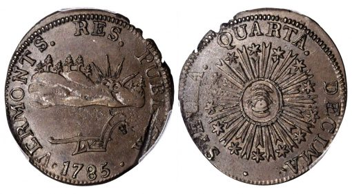 1785 Vermont Copper