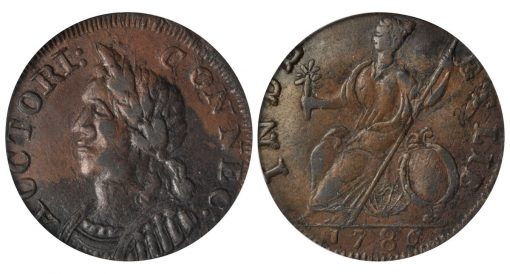 1786 Connecticut Copper