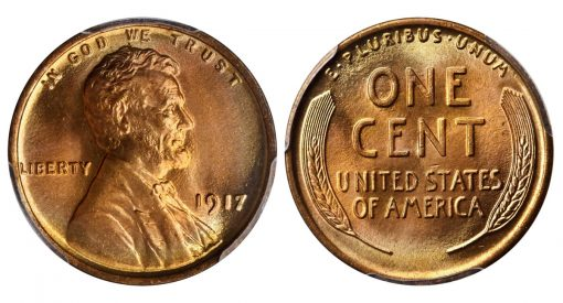 1917 Doubled Die Obverse Cent
