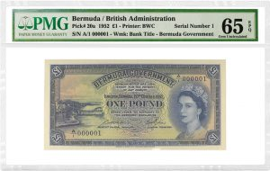 PMG Certifies Rare British Commonwealth Banknotes From Ibrahim Salem Collection