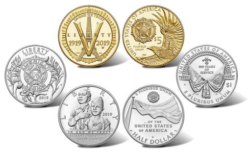 2019 American Legion 100th Anniversary Commemorative Coins