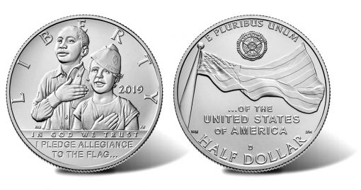 2019-D Uncirculated American Legion 100th Anniversary Half Dollar