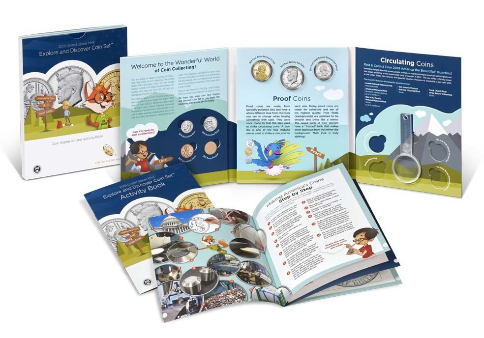 2019 coin and currency /& 2019 Explore /& Discover Set Both 2019 rocketship sets