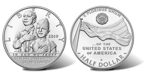 2019-S Proof American Legion 100th Anniversary Half Dollar