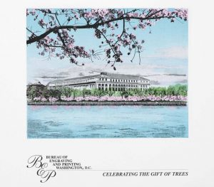 BEP Releases Cherry Blossom Engraved Pint
