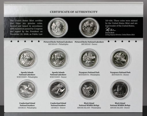 Photo of 2018 America the Beautiful Quarters Uncirculated Coin Set