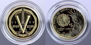 US Mint Sales: American Legion Coins Debut