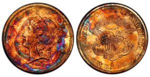 "Shipwrecked ""Supernova"" 1857-S Double Eagle Consigned to Legend Auctions"