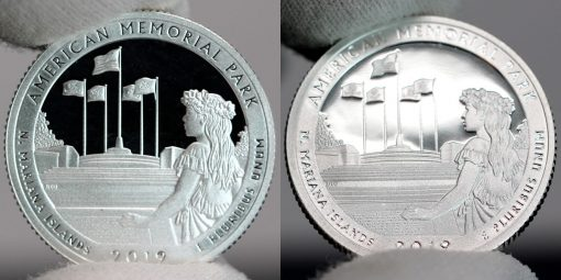 2018-S Proof American Memorial Park Quarters