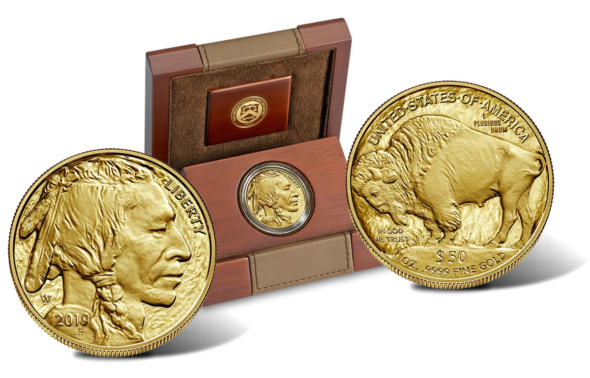 W Proof American Gold Buffalo Debuts