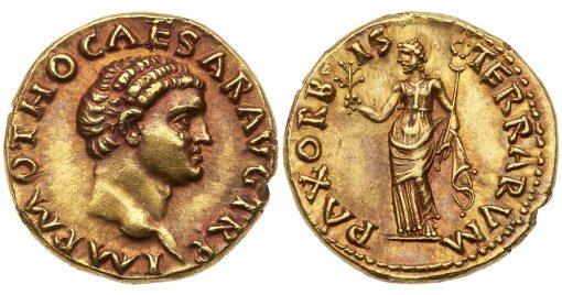 69 AD gold Aureus of Otho