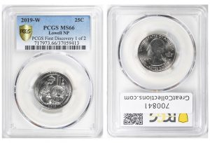 PCGS First Discovery 2019-W Quarter in GreatCollections Auction