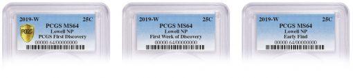 PCGS Lowell W mint mark pedigrees